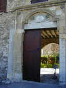 fort entrance, the gateway on Larnaca seafront